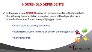 Household Dependents
