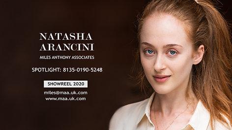Natasha Arancini - Showreel 2020