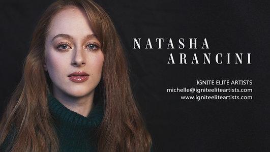 Natasha Arancini - Showreel 2019