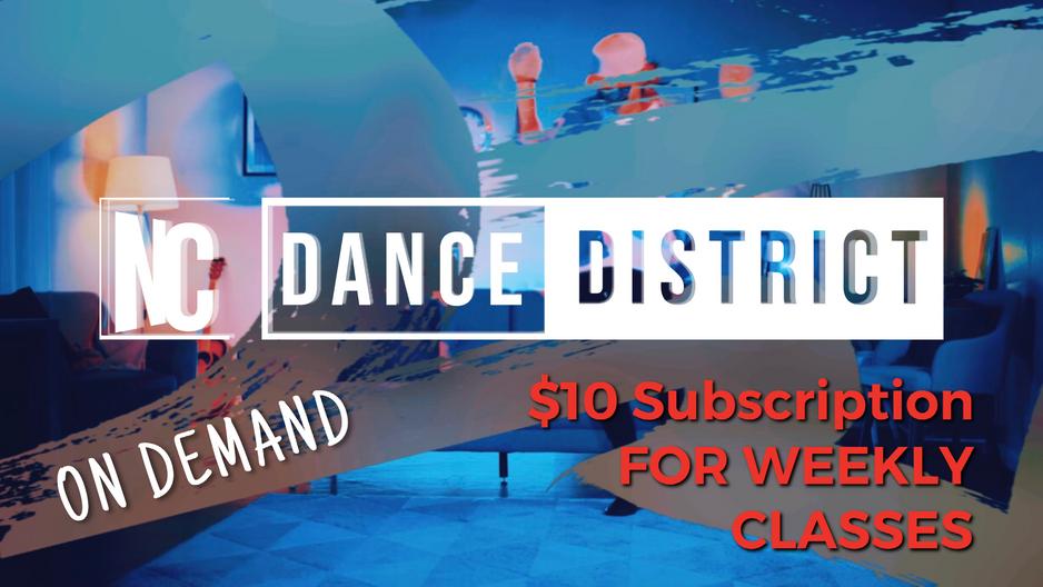 ONLINE DANCE CLASSES!