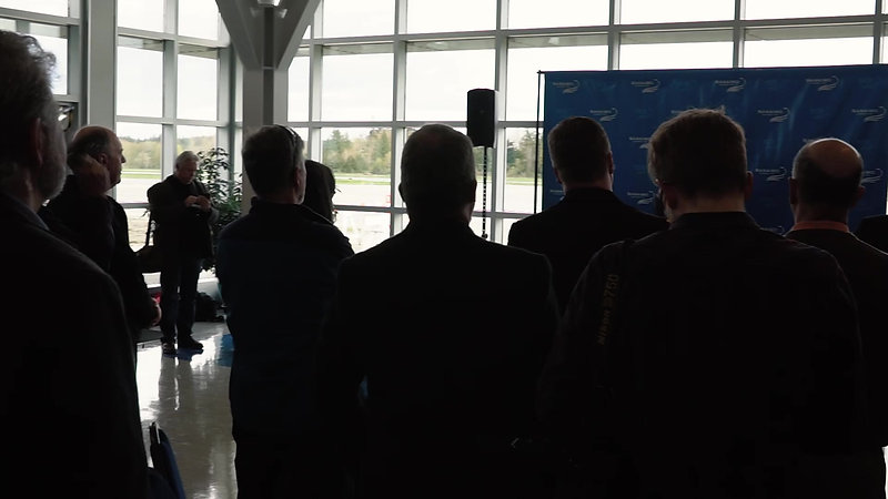 Nanaimo Airport Groundbreaking Event