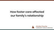 Foster Care Family Relationships