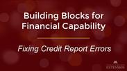 Fixing Credit Report Errors