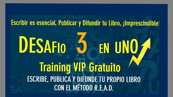 Video 2 Training VIP Desafio 3 en Uno