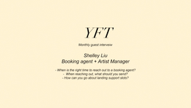 Shelley Liu - Booking Agent + Manager