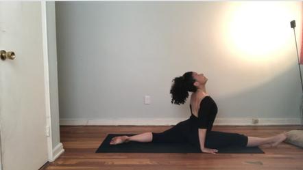 Class 2 – Split Pose