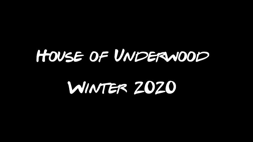 House of Underwood Winter 19/20