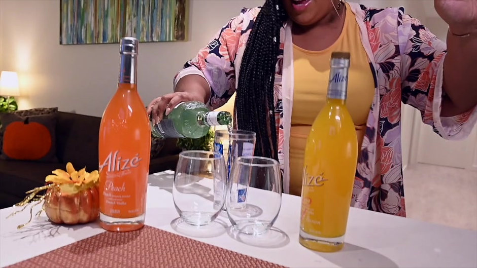 Commercial Staging: Friendsgiving and Alize