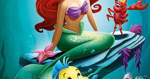 The Little Mermaid - Part of Your World -Sing along + Yogic Dance