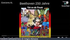 Concierto Latinoamericano - Colegios Alemanes - Ode an die Freude