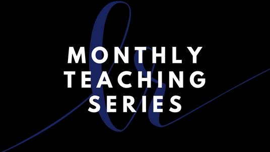 January 2021 Teaching Series