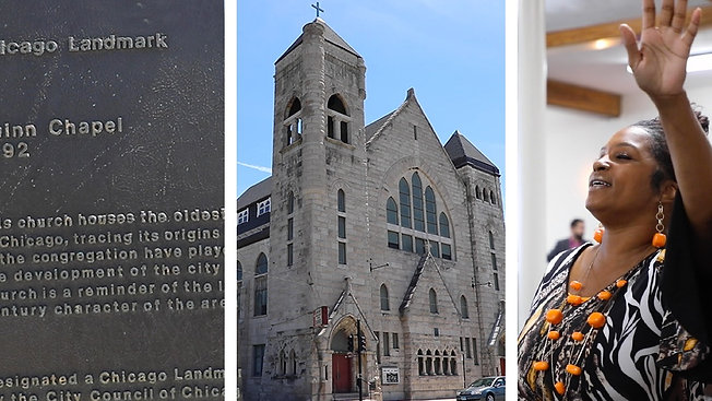 'We're Not Just A Relic:' Chicago's Oldest Black Church Is Adapting To A Changing City