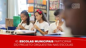Orquestra nas Escolas - Portal G1