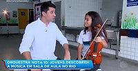 Orquestra nas Escolas - Record