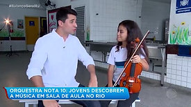 Orquestra nas Escolas - Record