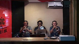 Trumpet Section in recording