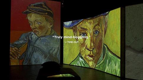 Van Gogh Alive 30s TVC