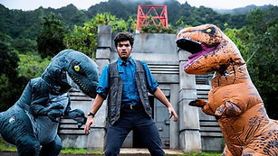 Jurassic World Meets Parkour in Real Life (1080p)
