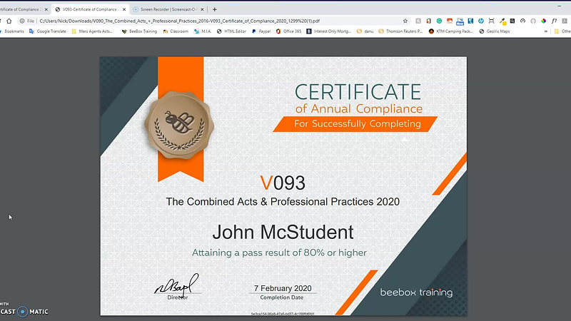 How to Download Certificate of Compliance and Save