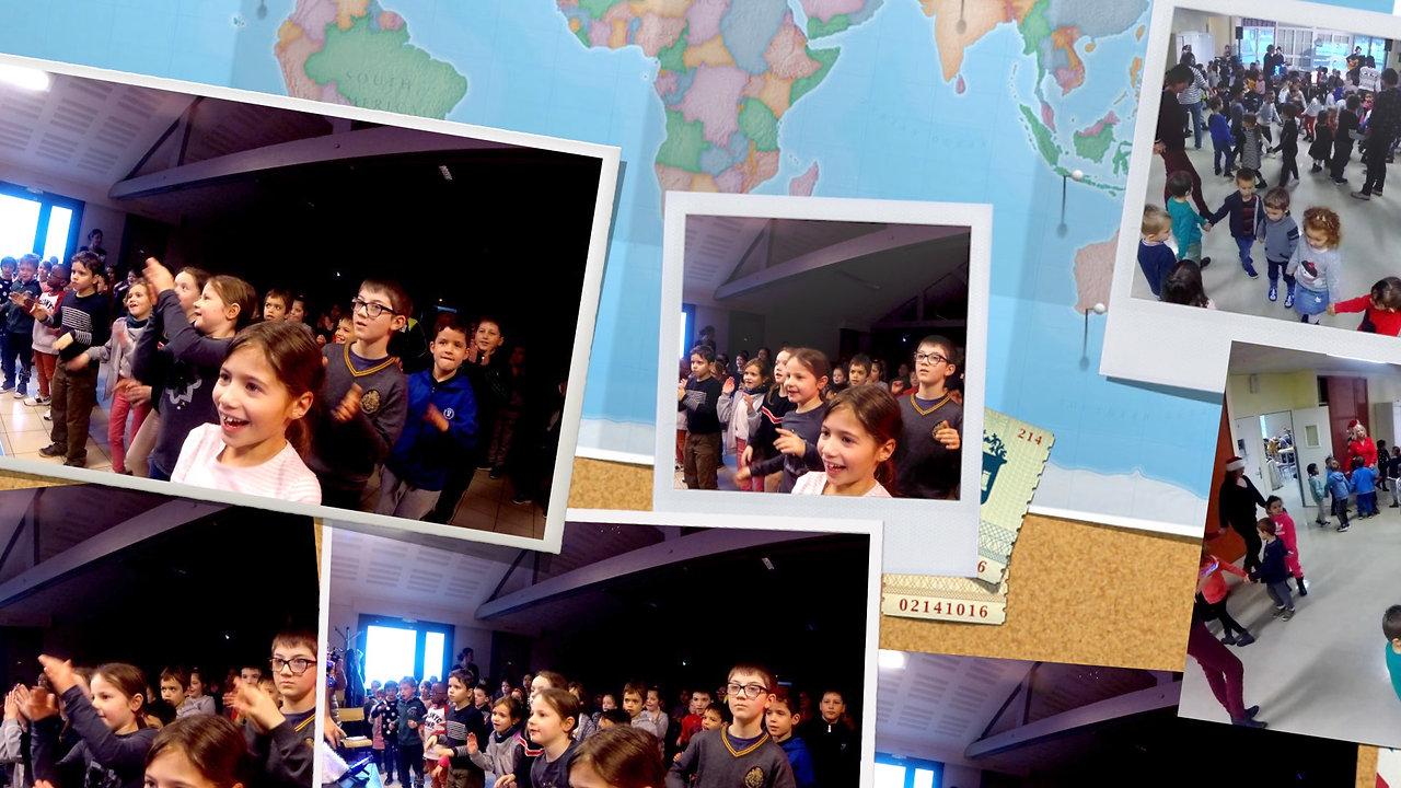 Noël autour du Monde, Bal dans les écoles maternelles et élémentaire