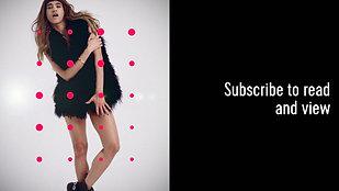 Sofia Boutella X BLAG