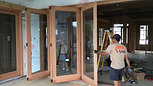 Quintuple Folding Doors