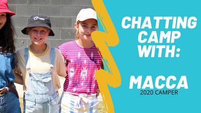 Macca: camp interview