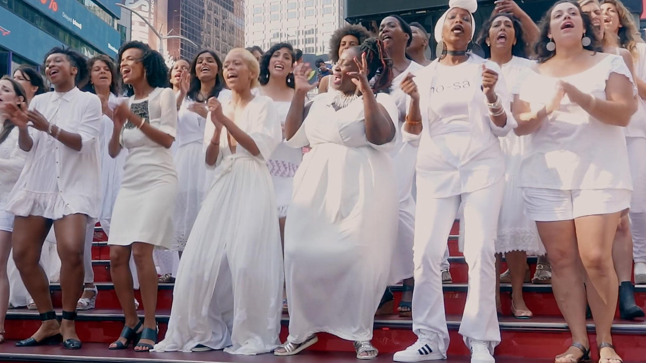 The Resistance Revival Chorus takes over Times Square!