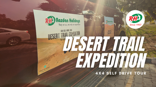 Desert Trail Expedition by Razdan Holidays