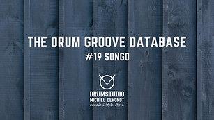 The Drum Groove Database #19: Songo