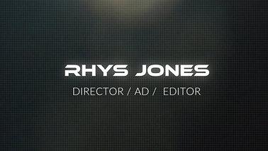 RHYS JONES: SHOWREEL 2019