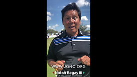 Notah Begay III Live from Bay Hill