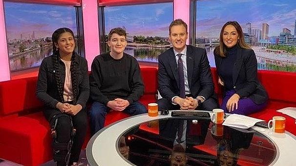 Teach the Future on BBC Breakfast