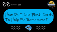 88_SDP How to use flash cards to help remember?