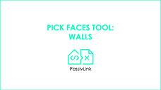 5 Revit to PHPP PassivLink: Pick Faces