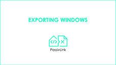 2 Revit to PHPP PassivLink: Window Panels