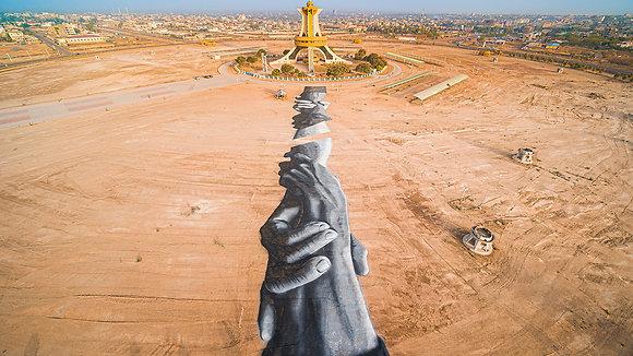 Beyond Walls - Ouagadougou - Saype