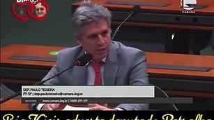Bia Kicis adverte deputado petralha