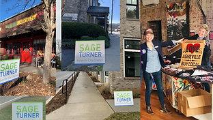 Sage Turner for Asheville City Council