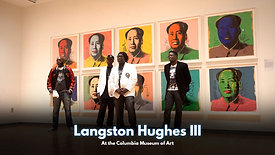 Langston Hughes III @Columbia Museum of Art