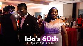 Ida's 60th Birthday Party