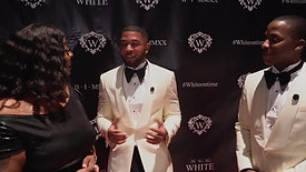 """White on Time"" Brice and Capricia's Wedding Red Carpet Event"