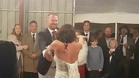 Wedding Dance Couple Tammaryn and Brad Charles
