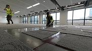 Desso carpet tiles professional installation process. Demo by River_Ocean_floors