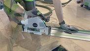 Tarkett Segno full parquet installation-Demo by River_Ocean_floors