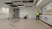 Tarkett Veneto linoleum full installation from beginning up to end, by River_Ocean_floors
