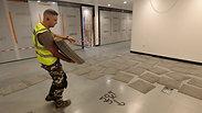 Interface commercial carpet tiles installation technique