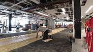 Tarkett Segno herringbone wood installation process from scratch by River_Ocean_floors