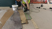 Sharp-cut for plinth thickness