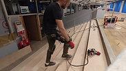 Prep works on the staircase by River_Ocean_floors team